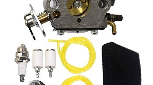 Replace 545081885 Carburetor, Primer Bulb Spark Plug Air